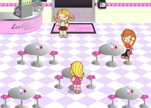 Game-restaurant-and-waitress