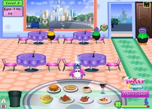 Restaurant-game-with-penguins-in-new-york