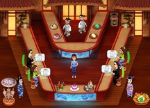Waitress-game-in-a-japanese-restaurant