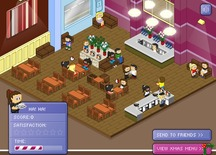 Waitress-in-a-cafe